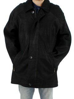 Man's Black Lamb Leather Jacket