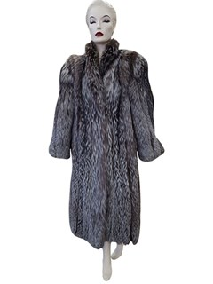 Natural Silver Fox Coat