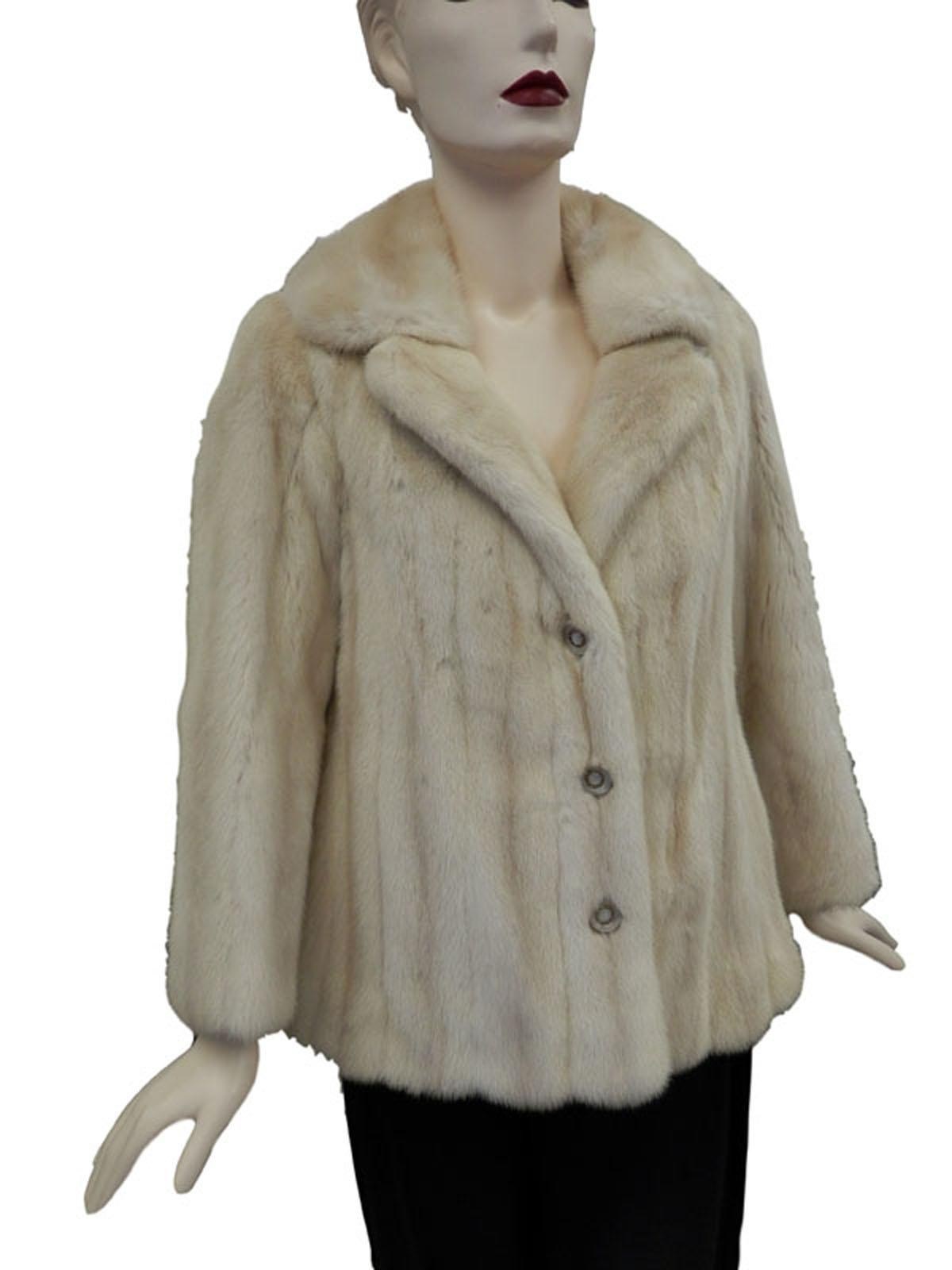 Tourmaline Mink Jacket