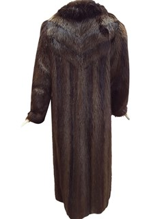 Long Hair Beaver Coat