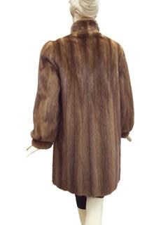 Dark Pastel Mink Coat