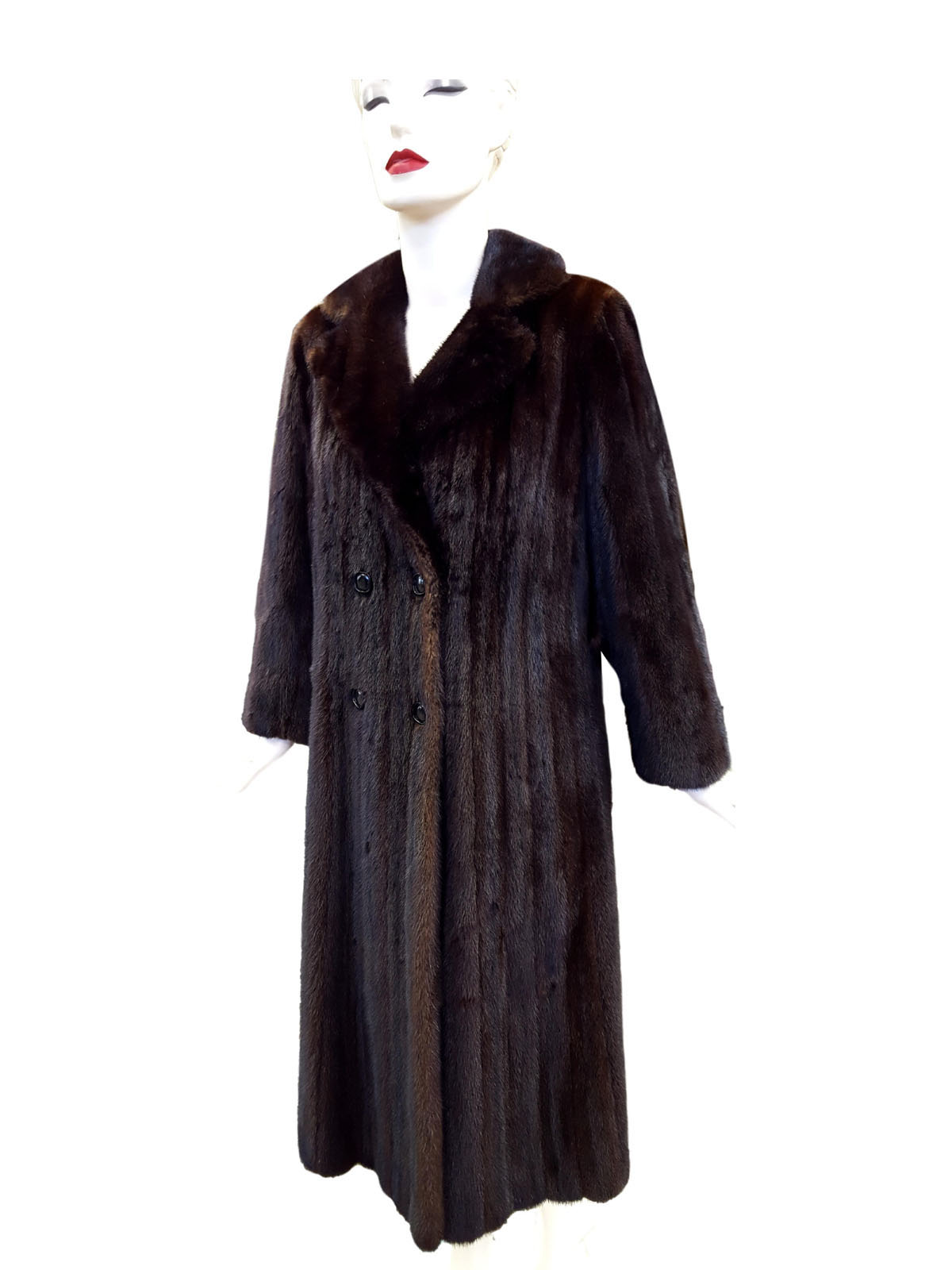 Mahogany Petite Shaped Coat