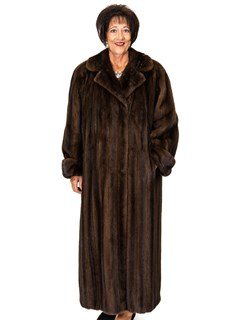 Lunaraine Mink Swing Coat