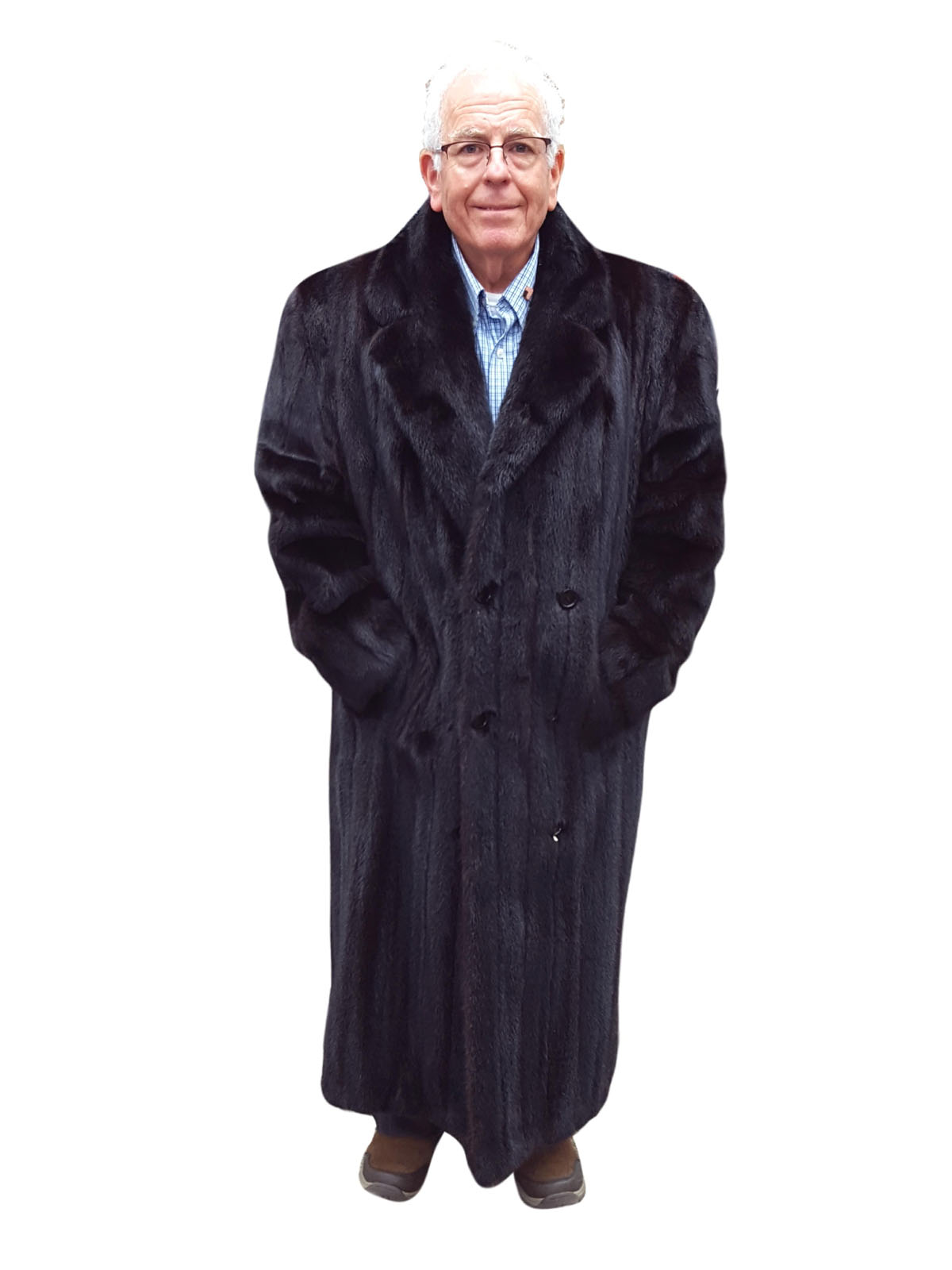 Man's Ranch Mink Coat