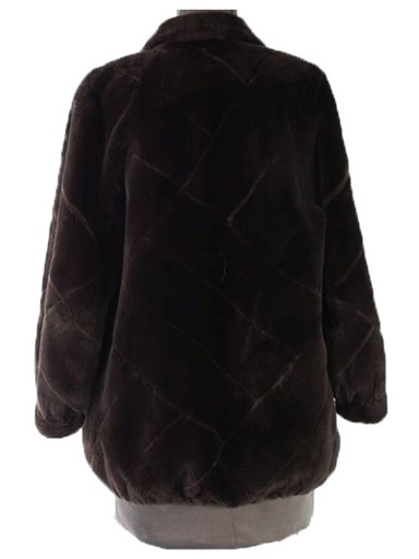 Sheared Beaver Fur Reversible Jacket