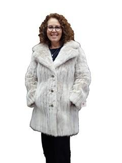NEW Snowtop Mink Corded Coat