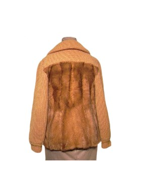 Autumn Haze Mink Fur Jacket