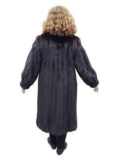 Mahogany Mink Petite Coat