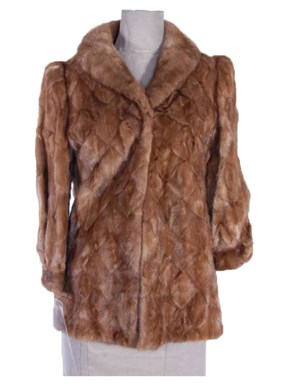 Lunaraine Mink Fur Section Jacket
