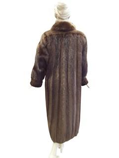 Long Hair Beaver Coat