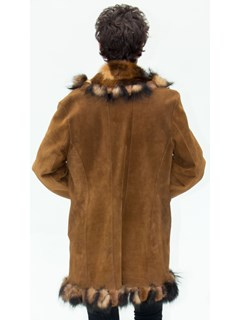 NEW Dominic Bellissimo Reversible Shearling