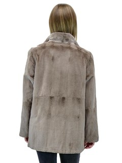 NEW Reversible Sheared Mink Jacket