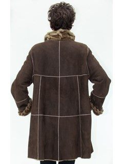 NEW Brown Merino Lamb Shearling