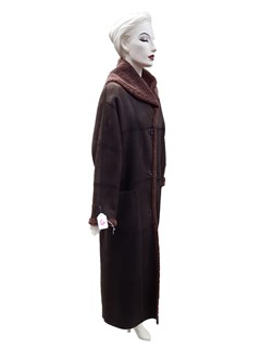 NEW Dominic Bellissimo Full Length Reversible Shearling