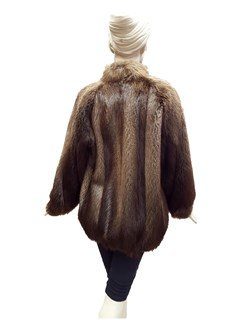 Long Hair Beaver Jacket