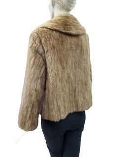Pastel Mink Sides Short Jacket