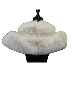 NEW Blush Fox Shoulder Cape Collar