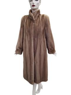 Autumn Haze Pastel Mink Coat
