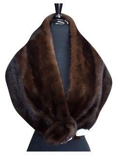 NEW Lunaraine Mink Cape
