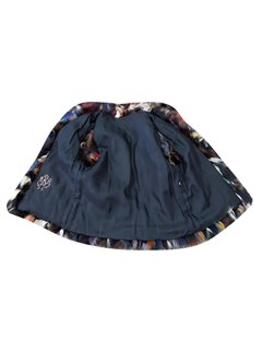 Multicolor Fox Sections Vest