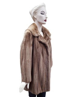 NEW Authentic Vintage Autumn Haze Mink Jacket