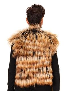 NEW Camel Tibetan Lamb Short Vest