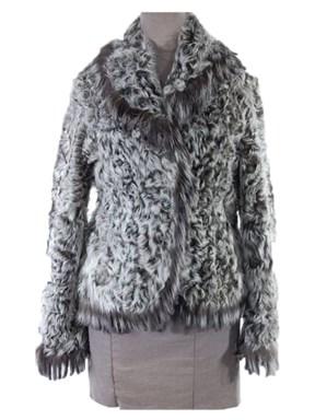 Curly Lamb Fur Jacket