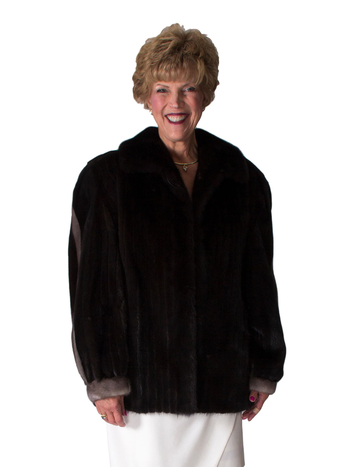 NEW Corded Ranch Mink Jacket