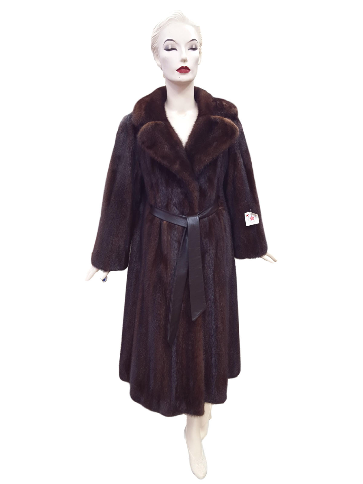 NEW Authentic Vintage Lunaraine Mink Swing Coat