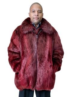 NEW Scarlet Red Beaver Jacket