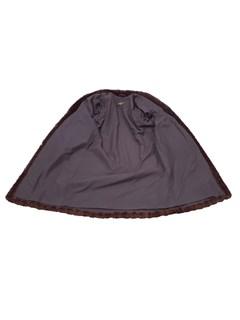 Natural Mahogany Mink Coat