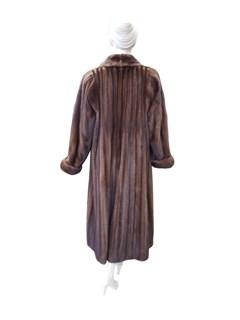 Natural Demi Buff Mink Coat