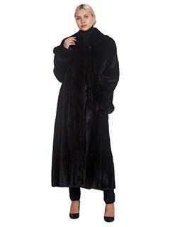 Woman's Goldin Feldman Full Length Mink Fur Coat