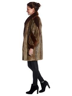 Woman's Beaver Fur Stroller