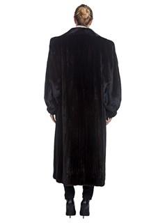 Woman's Neiman Marcus Ranch Mink Fur Coat