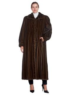 Woman's Lunaraine Mink Fur 7/8 Coat