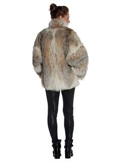 Woman's Lynx Fur Stroller