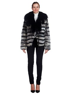 Woman's Sussex Rabbit Fur and Fox Fur Jacket