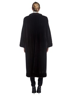 Woman's Bisang for Neiman Marcus Full Length Ranch Mink Fur Coat