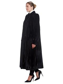 Woman's Full Length Megaris Ranch Mink Fur Coat