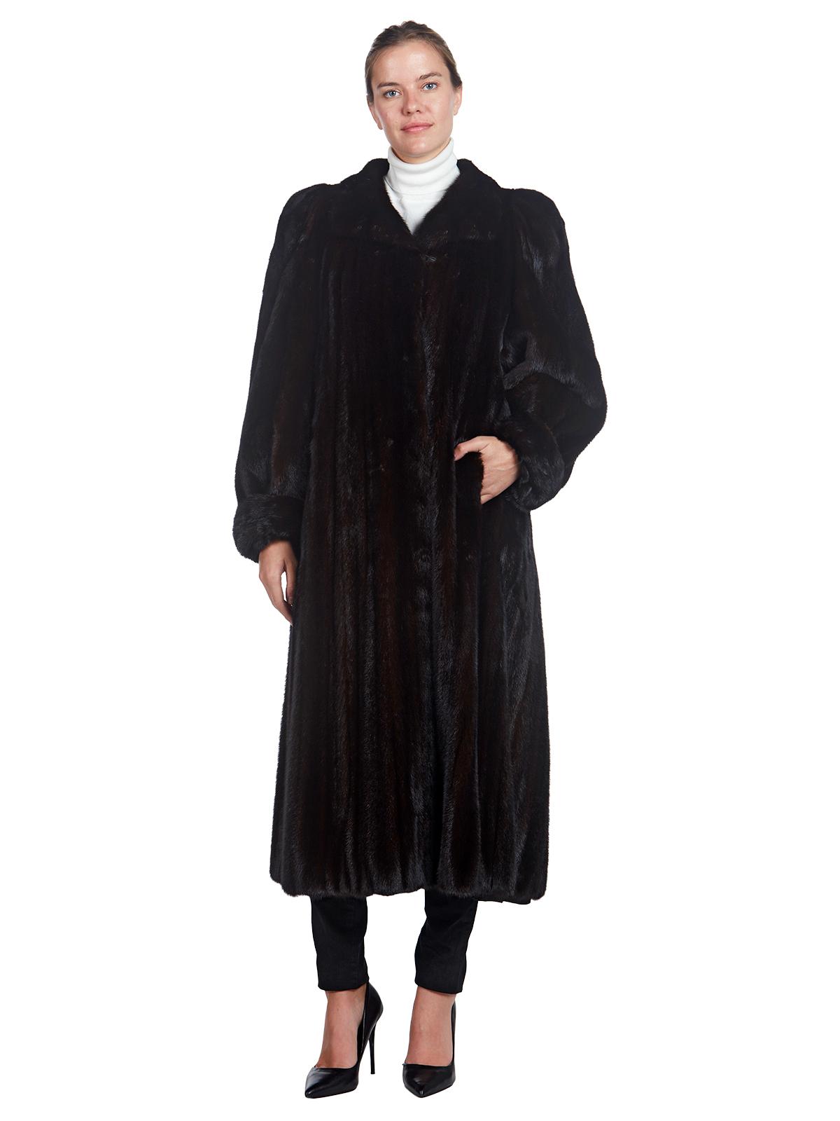 Woman's Christian Dior Ranch Mink Fur Coat