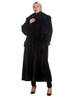 Woman's Full Length Lunaraine Mink Fur Coat