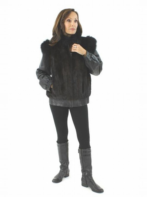 Mahogany Mink Jacket and Vest