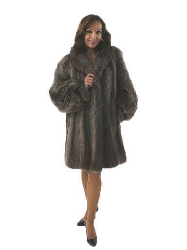 Raccoon Fur Stroller