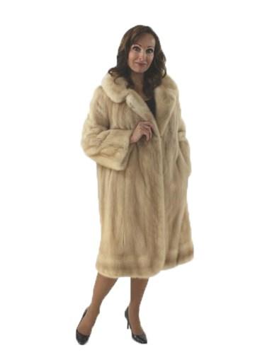 Pastel Mink Fur Coat