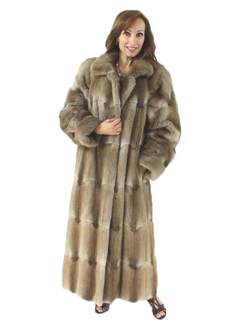 Woman's Muskrat Fur Coat