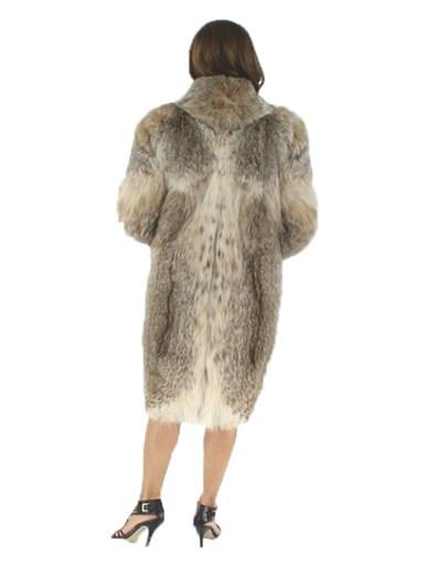 Canadian Lynx Fur Stroller