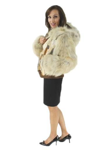 Coyote Fur Section Jacket