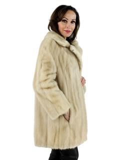 Woman's Tourmaline Mink Fur Stroller
