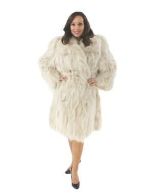 Blush Fox Fur Section Stroller